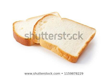 Toast Bread on the white Stock photo © ozaiachin
