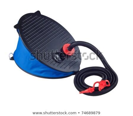 Air pump foot type for air bed or bicycle Stock photo © JohnKasawa