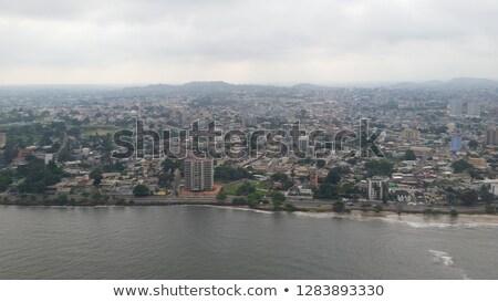 Gabon republika Afryki mapy dodatkowo Zdjęcia stock © Vectorminator
