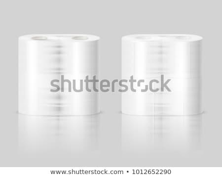 Iki banyo yalıtılmış beyaz Stok fotoğraf © snyfer