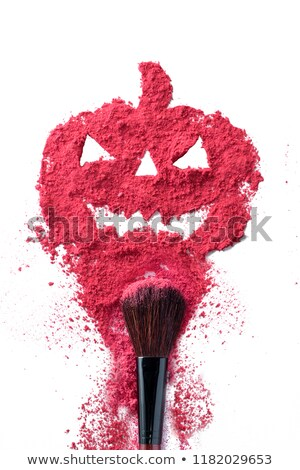 Halloween beautiful card colorful pumpkins party background vect Stock photo © bharat