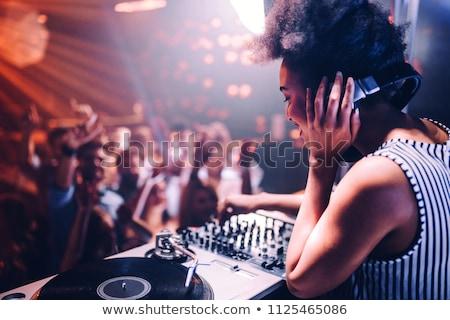 DJ And Audience Stock photo © derocz