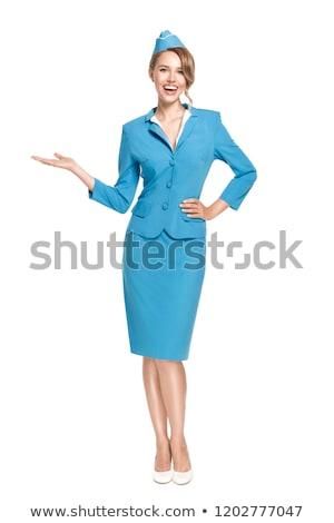 belo · conselho · grande · avião · sorrir - foto stock © elnur
