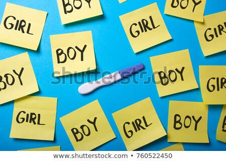 Stock photo: positive male gender symbol