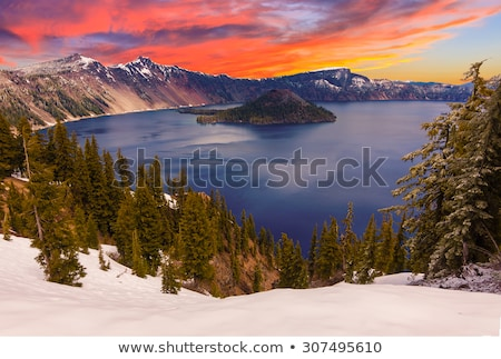 Crater Lake on White Island Stock photo © dirkr