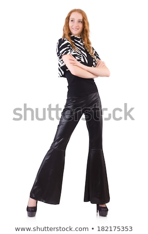 женщину черный колокола нижний брюки Сток-фото © Elnur
