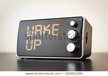 переключатель · будильник · девушки · часы · мебель - Сток-фото © manfredxy
