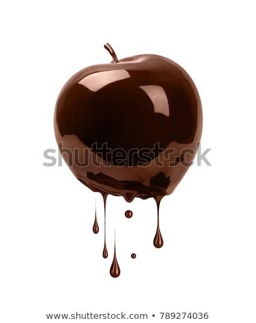 chocolade · appels · snoep · vakantie · viering · zoete - stockfoto © phakimata