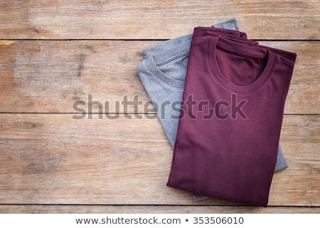 Tshirt symbole gris couleurs football sport Photo stock © aliaksandra
