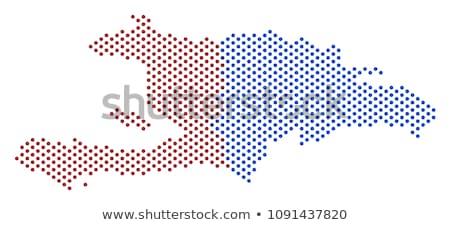Mapa Haiti ponto padrão vetor imagem Foto stock © Istanbul2009