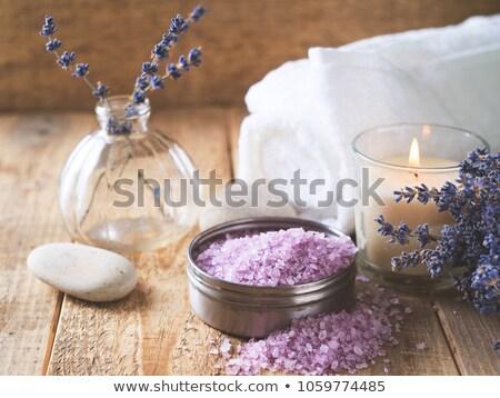 lavanda · candela · fiore · natura · luce · salute - foto d'archivio © Aleksa_D