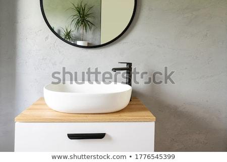 элегантный стали крана керамической плитки дизайна Сток-фото © sharpner