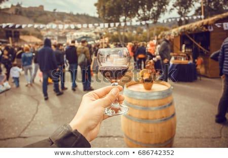 Vinho vinho branco vermelho textura abstrato Foto stock © Givaga