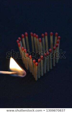 ignición · partido · luces · segundo · resumen · humo - foto stock © shutswis