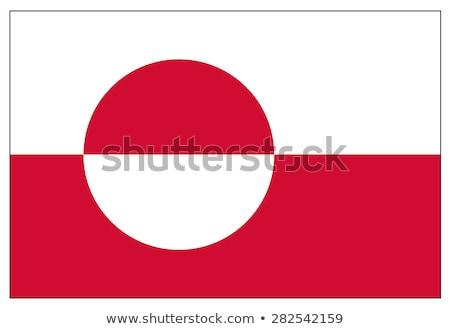 flag of greenland stock photo © kiddaikiddee