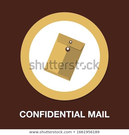 correspondência · ícone · projeto · negócio · isolado · ilustração - foto stock © wad