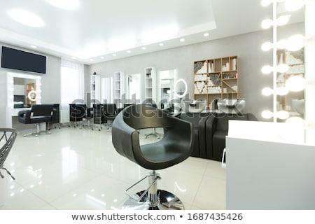 peluquero · ilustración · femenino · corte · ocio · peinado - foto stock © adrenalina
