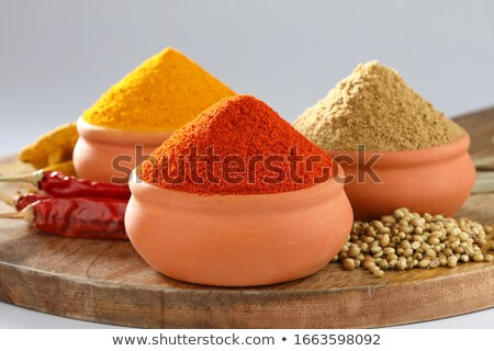 Terracotta bowl  Stock photo © Digifoodstock