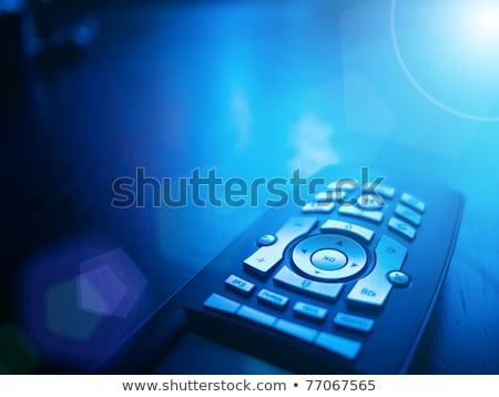 Kék távoli fény technológia zöld piros Stock fotó © shutswis