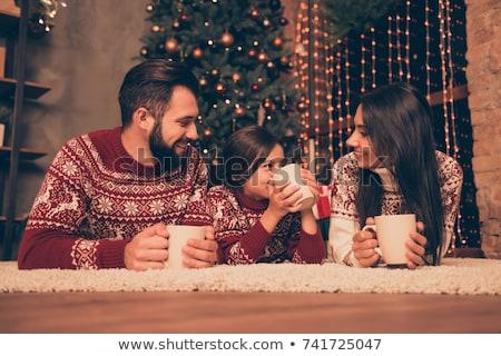 Рождества · кофе · Cookies · натюрморт · вкусный · традиционный - Сток-фото © kzenon