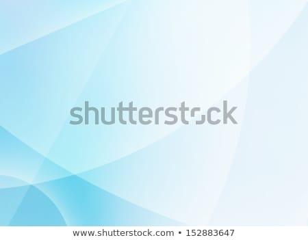 抽象的な · 光 · ぼかし · テンプレート · 現代 · 青 - ストックフォト © beholdereye
