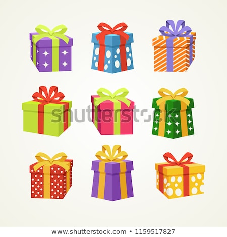 Many colorful gift boxes stock photo © BarbaraNeveu