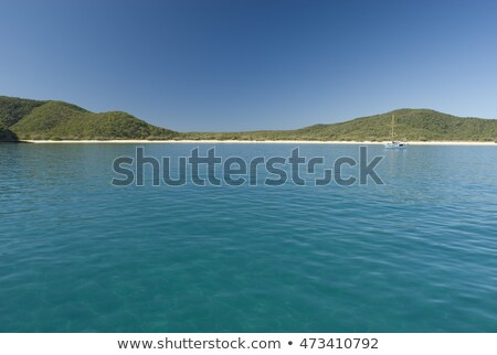 great keppel island secluded tropical beachs stock photo © photohome