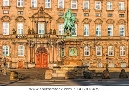 дворец Копенгаген Дания здании синий Сток-фото © vladacanon