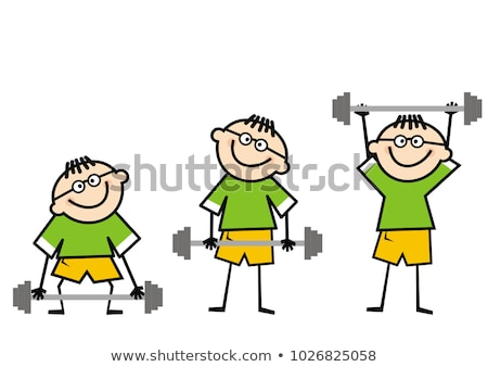 humor olympic games   3 stock photo © bonathos