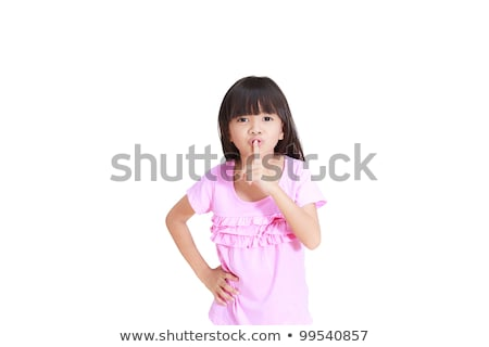 Sneaky little girl Stock photo © sapegina
