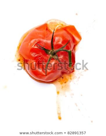 Marcio pomodoro bianco illustrazione sfondo arte Foto d'archivio © bluering
