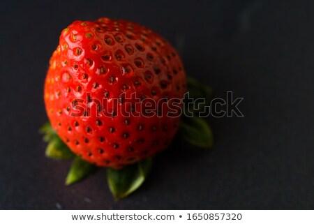 Eper lédús izolált friss piros bogyó Stock fotó © popaukropa
