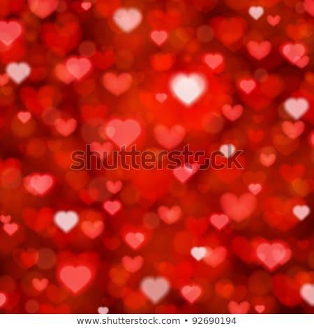 valentine s day hearts bokeh background eps 10 stock photo © beholdereye