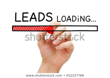 Lead Generation Loading Bar Concept Stock photo © ivelin