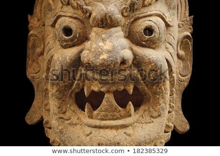 Mask For Mahakala Stock photo © searagen