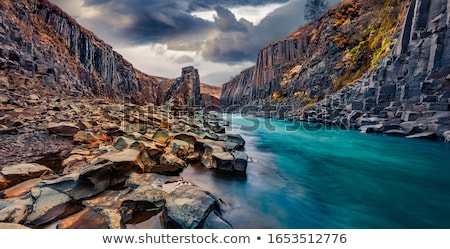 Deep Cliff Background Stock photo © unkreatives