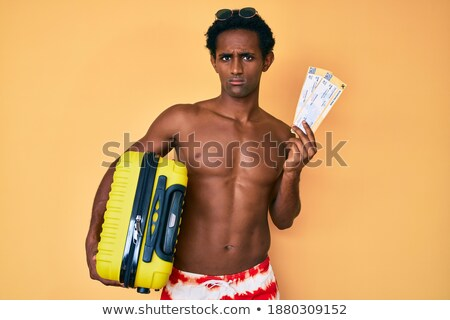 África confundirse viajero espalda caucásico Foto stock © RAStudio