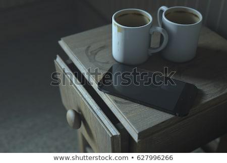 Bedside Table Insomnia Scene Stock photo © albund