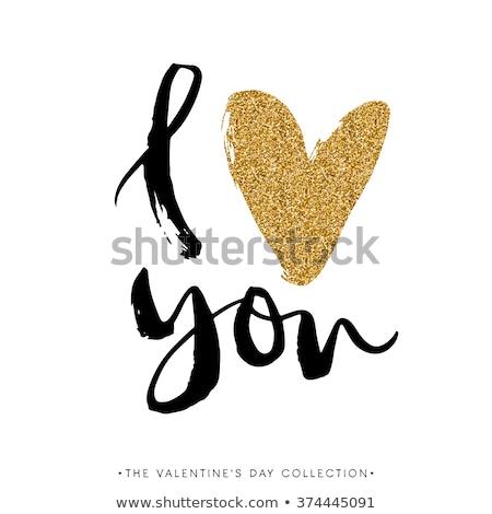 愛 · あなた自身 · モチベーション · バナー · ベクトル - ストックフォト © pikepicture