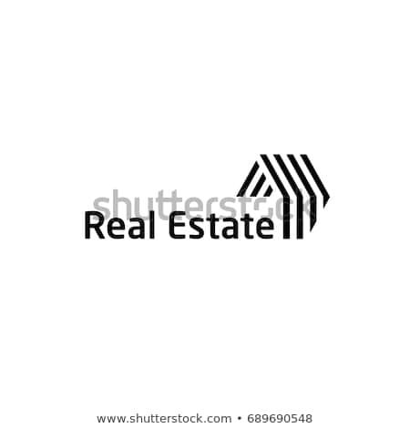 Yaratıcı gayrimenkul logo tasarımı marka kimlik şirket Stok fotoğraf © DavidArts