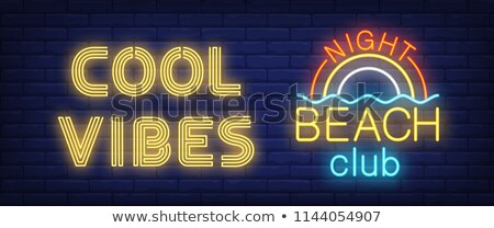 Night Life Neon Light Signs Stock photo © solarseven