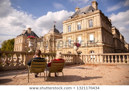 Stock photo: Luxembourg Palace in afternoon