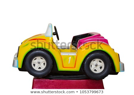 Stock photo: A Fun Fair and Rides