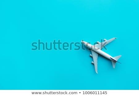 Aviazione business globale aerei mappa mondo Foto d'archivio © alexaldo