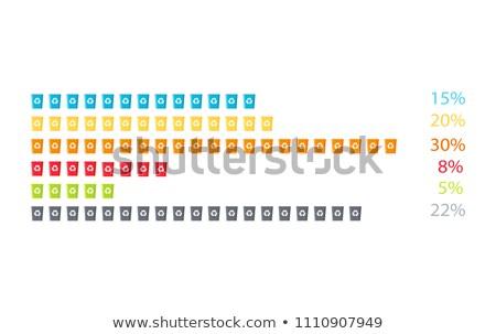 Gunoi poster informaţii deşeuri culoare Imagine de stoc © robuart