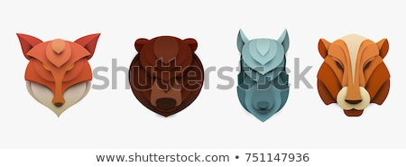 Cartoon Wolf Crafts Stock photo © cthoman