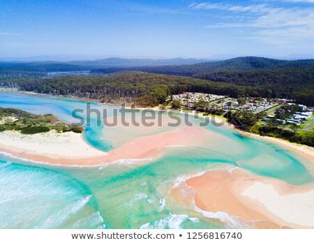 Idilliaco spiagge Australia costa Foto d'archivio © lovleah