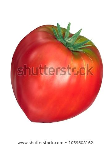 Foto stock: Tomates · fresco · isolado · comestível