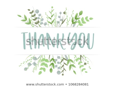 symbol of gratitude Thank  Stock photo © Olena