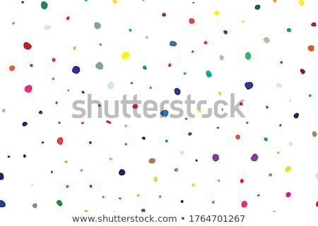 Vector geometric seamless dotted pattern - small polka texture. Stylish blue background Stock photo © ExpressVectors